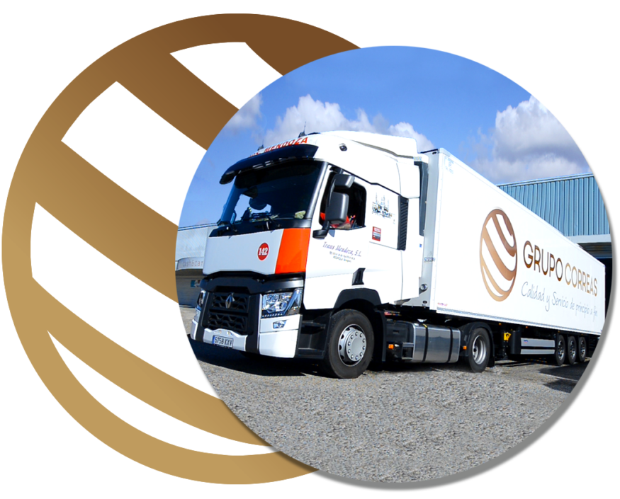 Camión Grupo Correas